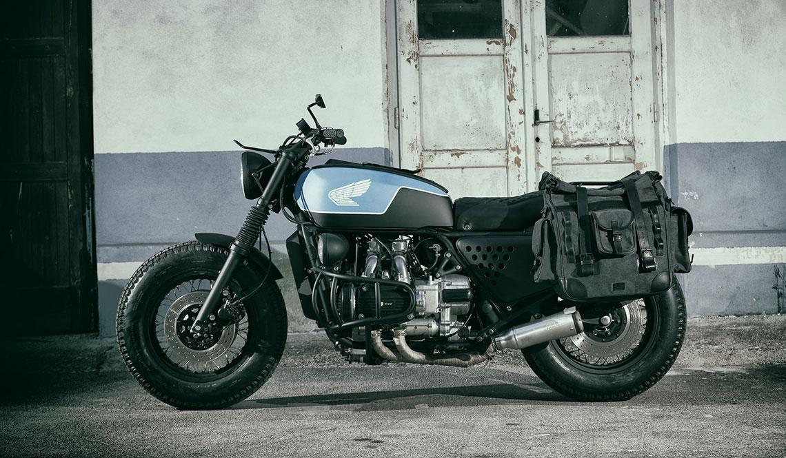 "HONDA GL1000 ""NORDIQ"" BY ER MOTORCYCLES"
