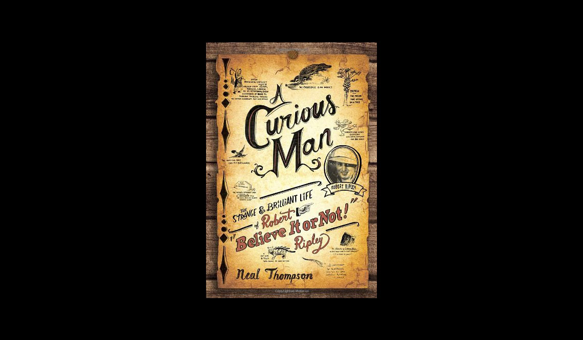 A Curious Man Book