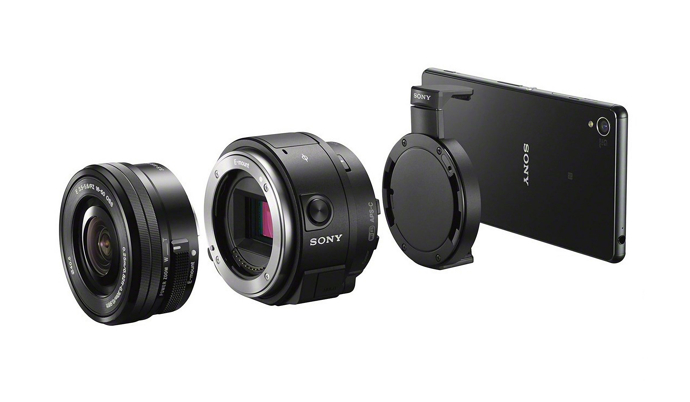 SONY QX1 INTERCHANGEABLE LENS CAMERA