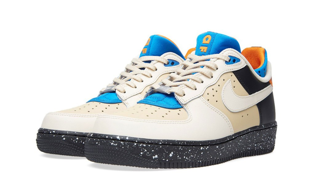 NIKE AIR FORCE 1 CMFT MOWABB - SAND DUNE & BLACK