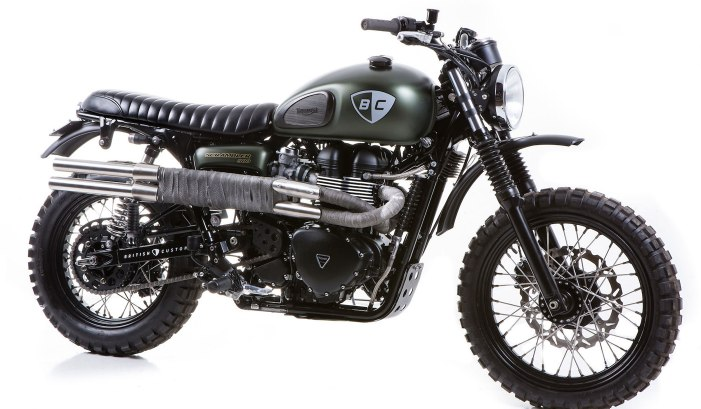 TRIUMPH SCRAMBLER 'THE DIRT BIKE' BY BRITISH CUSTOMS