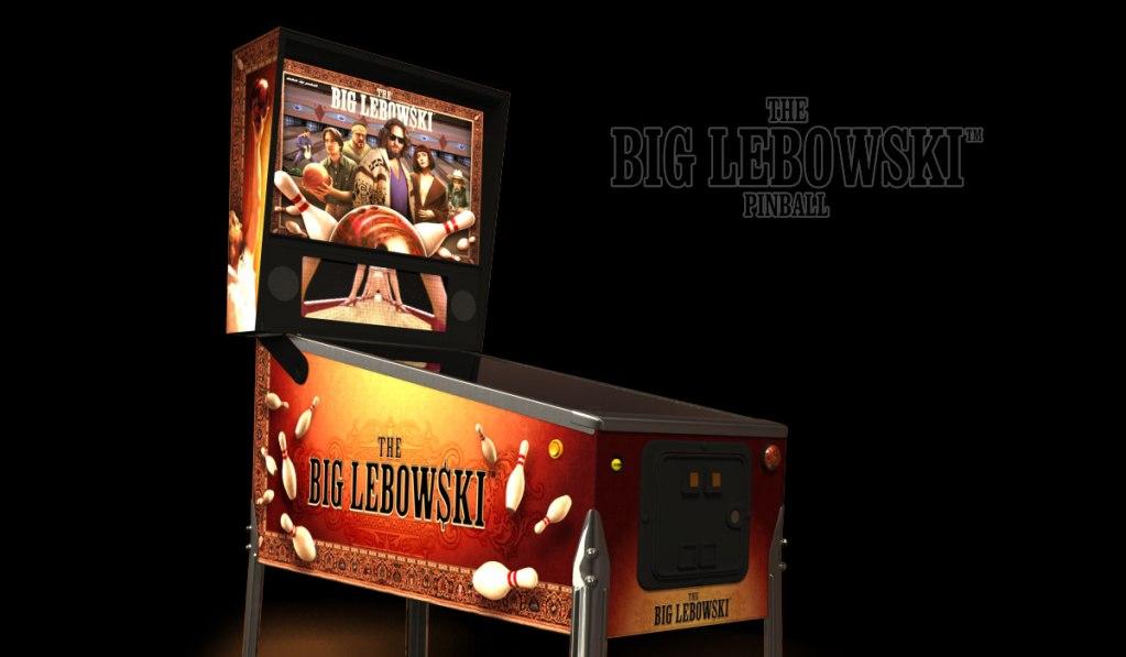 THE BIG LEBOWSKI PINBALL MACHINE