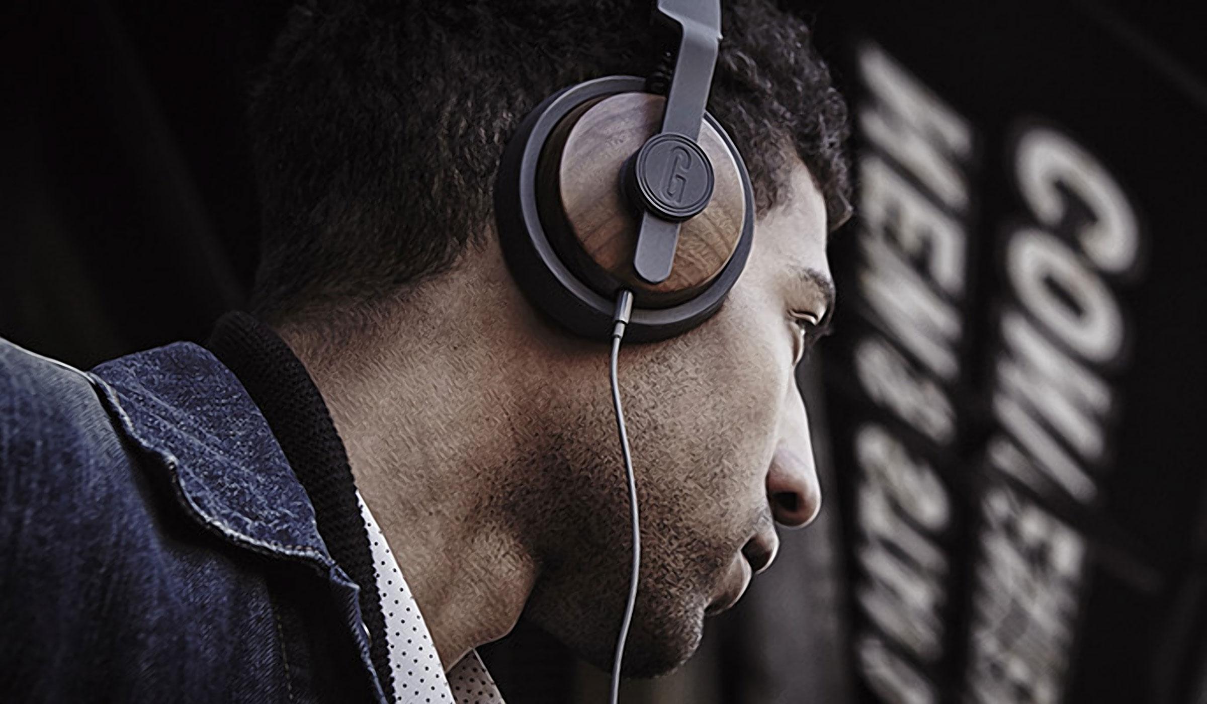 GRAIN AUDIO OEHP.01 SOLID WOOD HEADPHONES