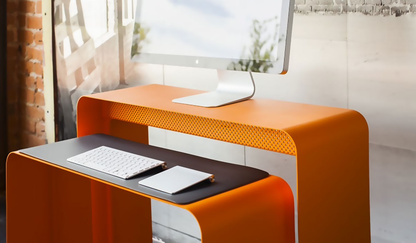 Oneless Desk By Heckler Design