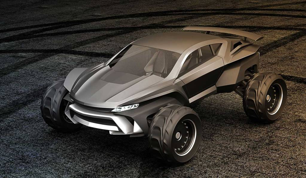 SIDEWINDER BY GRAY DESIGN | THE ULTIMATE LUXURY DUNE BUGGY