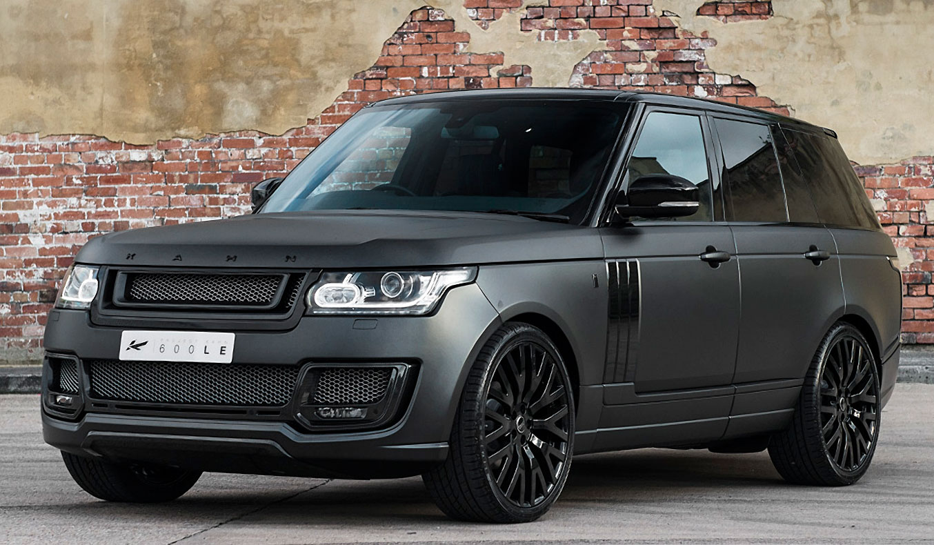 LAND ROVER RANGE ROVER - 3.0 TDV6 VOGUE - 600-LE LUXURY EDITION BY KAHN DESIGN