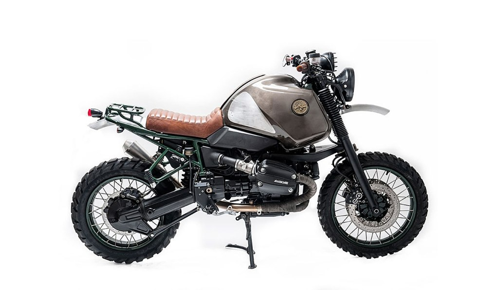 BULDOZZER 1999 BMW R100GS MOTORCYCLE BY OFFICINE SBRANNETTI