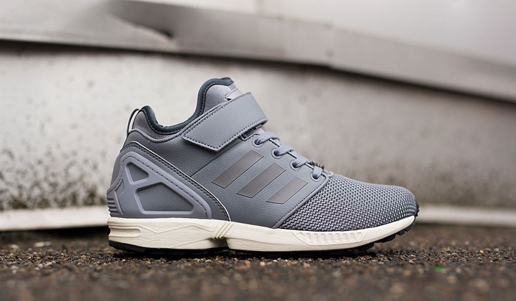 ADIDAS ZX FLUX NPS MID - GRAY