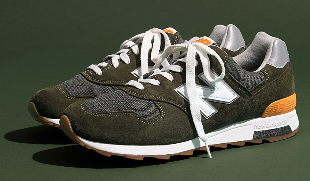 "NEW BALANCE X J.CREW 1400 ""FORT GREENE"" SNEAKER"