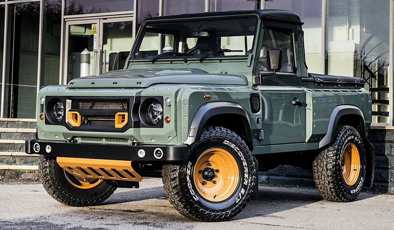 KAHN DESIGN LAND ROVER DEFENDER 90 PICK UP