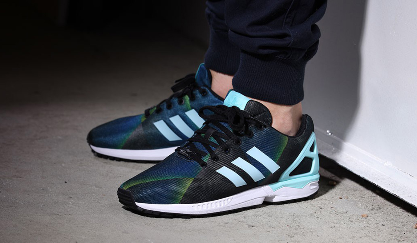 "ADIDAS ORIGINALS ZX FLUX ""FADED COLORS"""