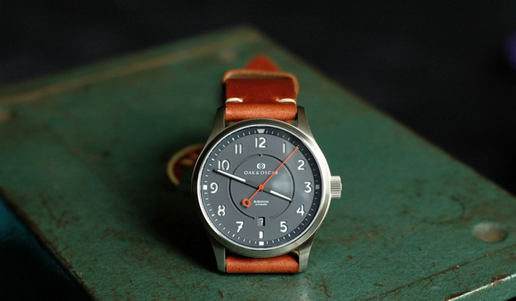 OAK & OSCAR BURNHAM WATCH