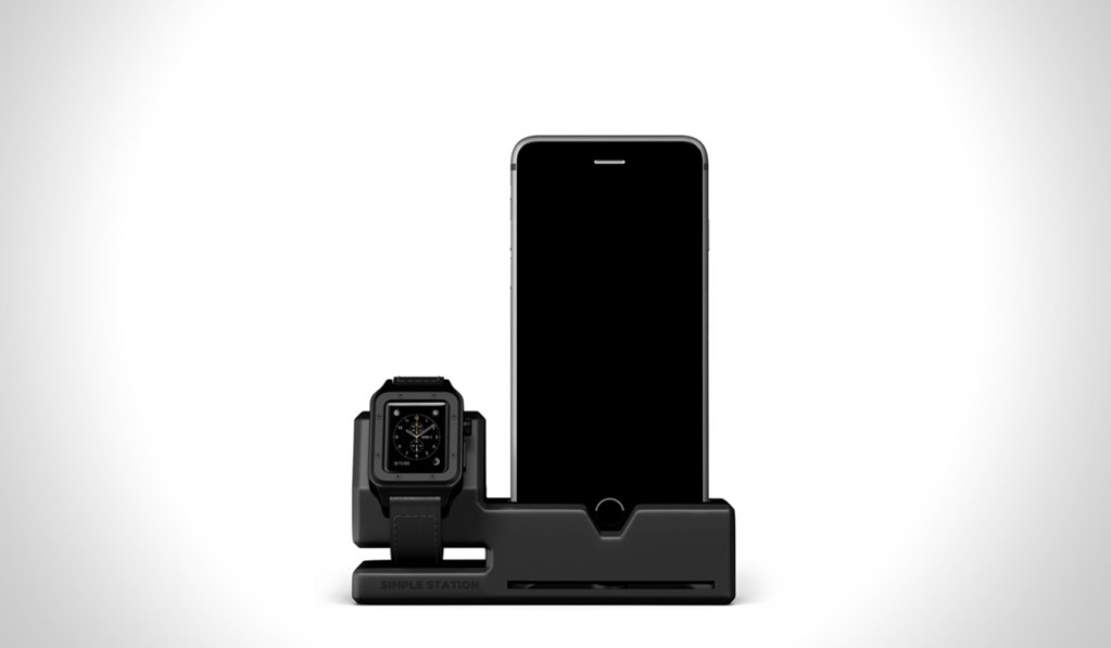 SIMPLE STATION DOCK APPLE WATCH AND IPHONE CHARGER