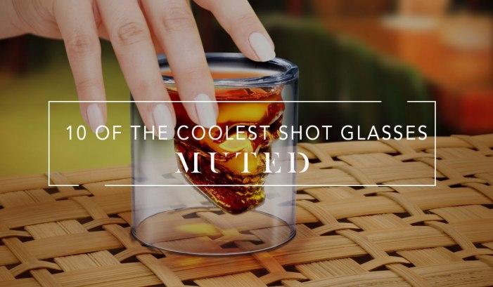 10 Cool Shot Glasses