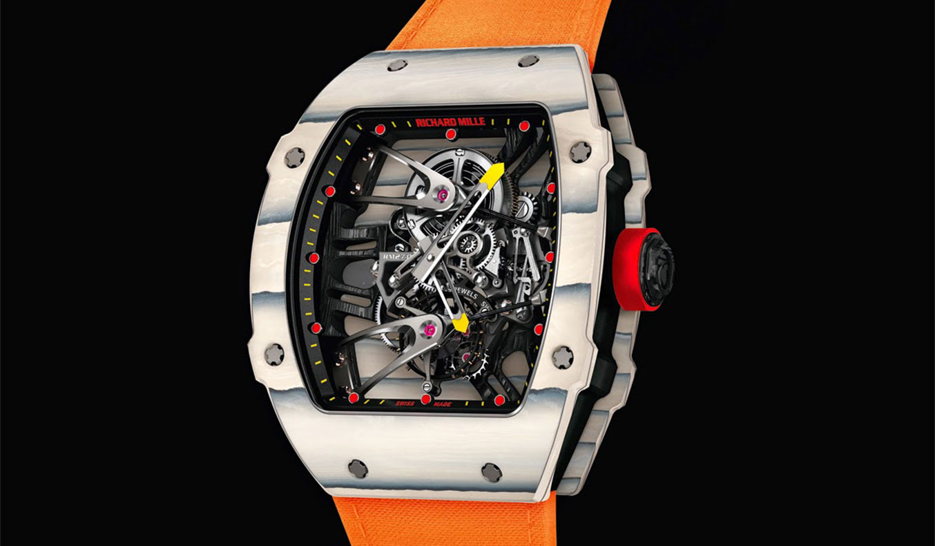 RICHARD MILLE - TOURBILLON RM 27-02 RAFAEL NADAL