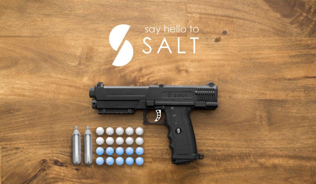 SALT THE NON-LETHAL HANDGUN
