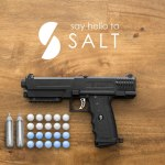 SALT THE NON-LETHAL HANDGUN