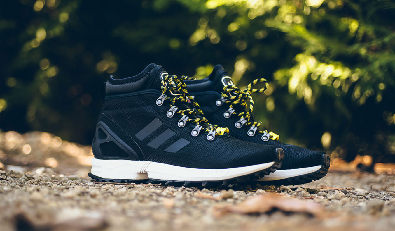 ADIDAS ZX FLUX WINTER BOOT - CORE BLACK
