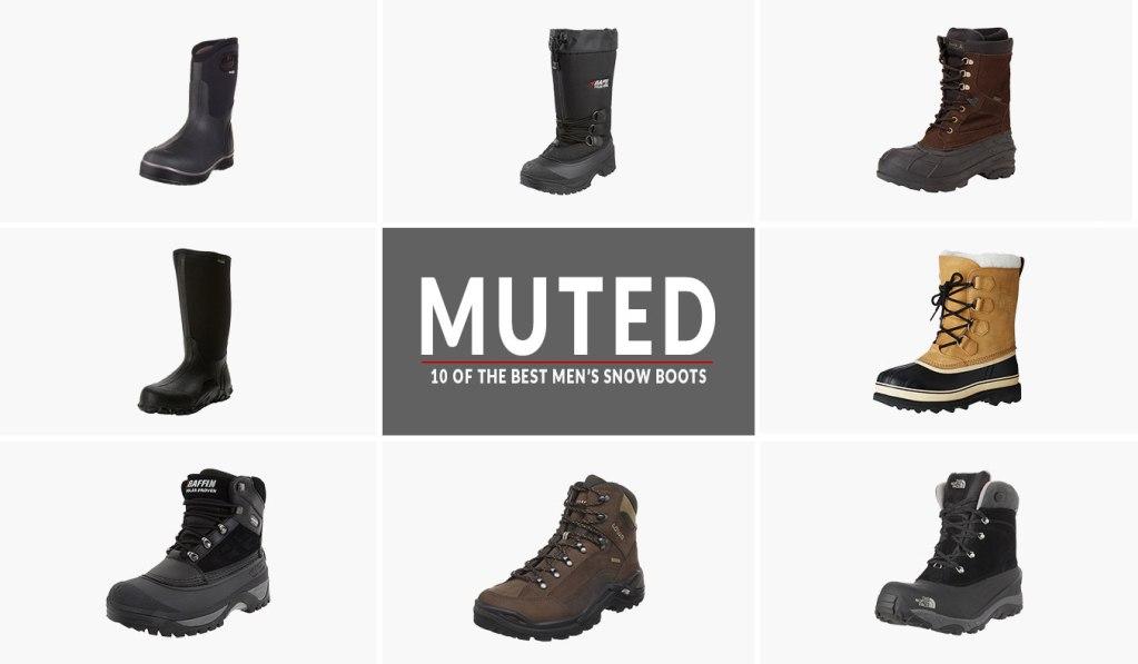10 of the best men snow boots
