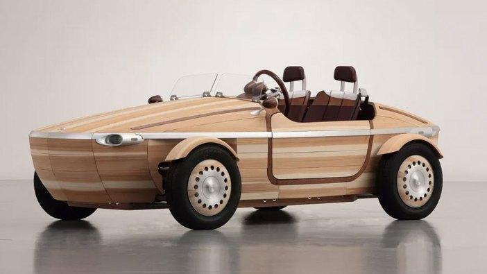 TOYOTA SETSUNA WOODEN CONCEPT CAR