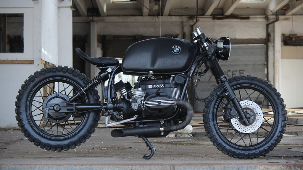 BMW R100S BLACK BARON BY RELIC MOTORCYCLES