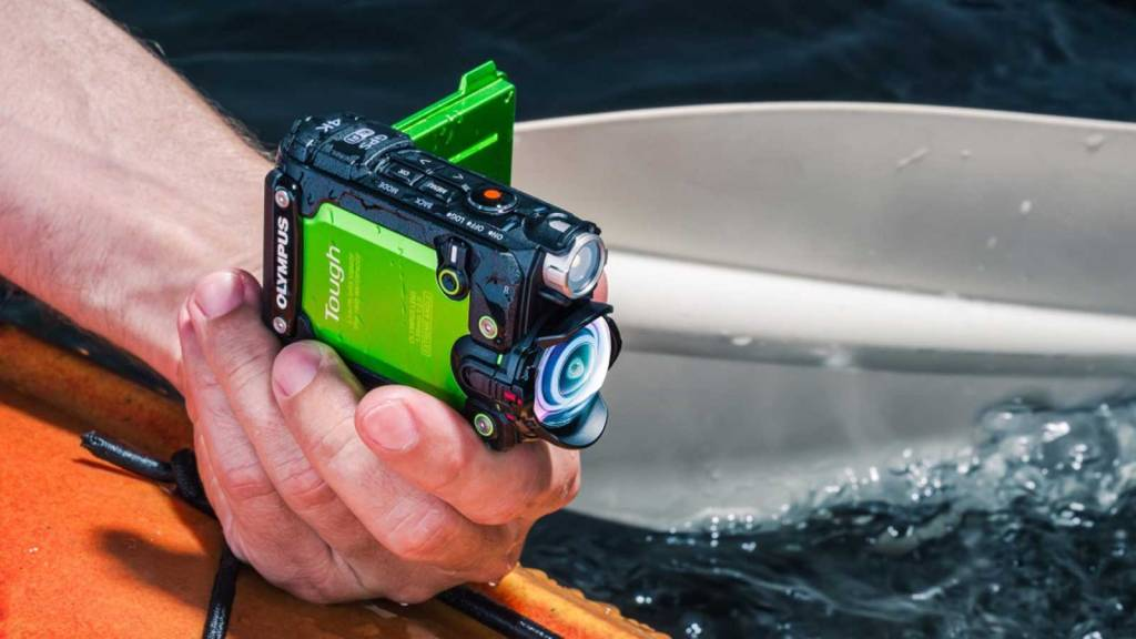 OLYMPUS TOUGH TG-TRACKER ACTION CAMERA