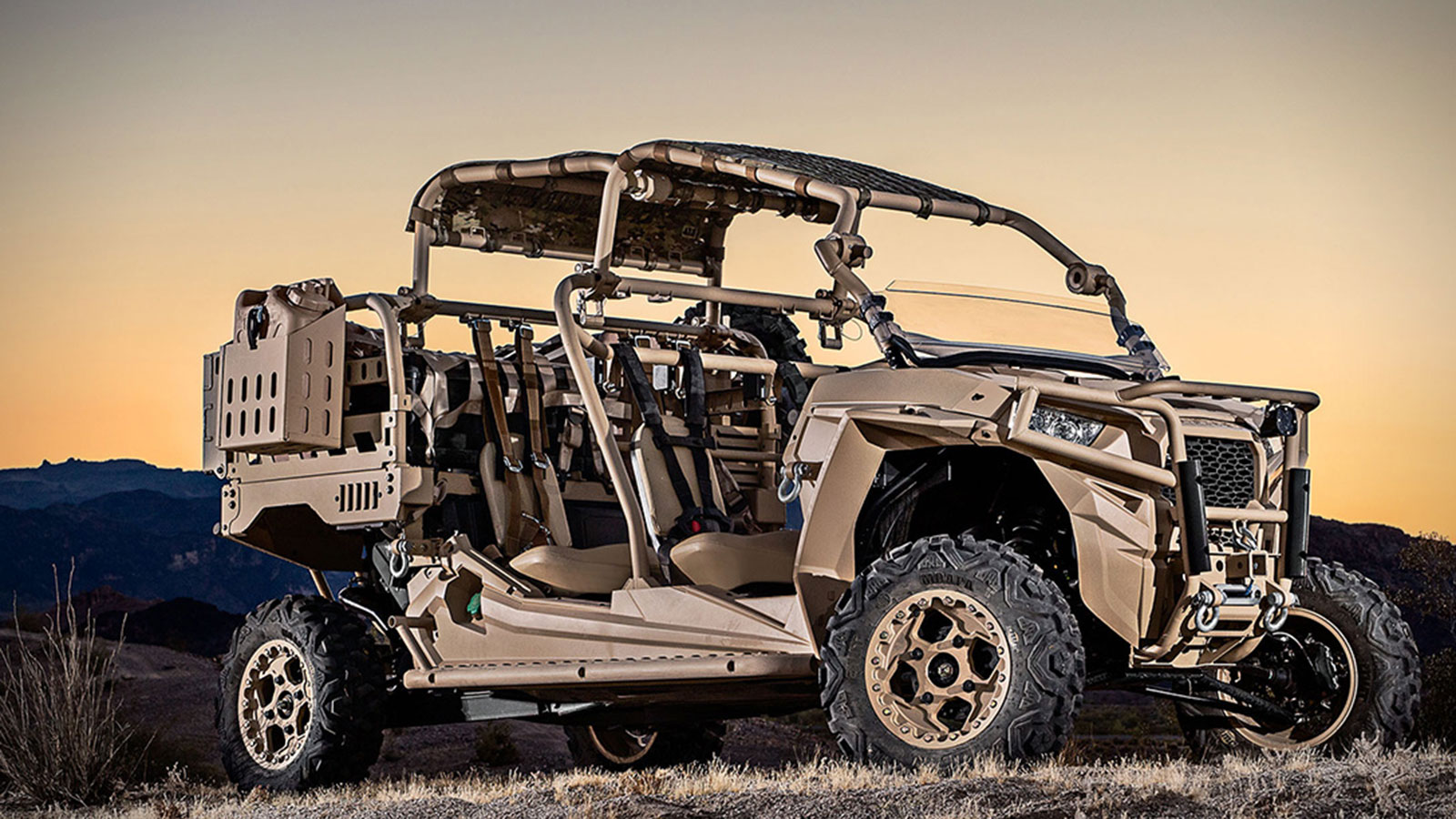 POLARIS DEFENSE TURBO DIESEL MRZR-D MILITARY ATV