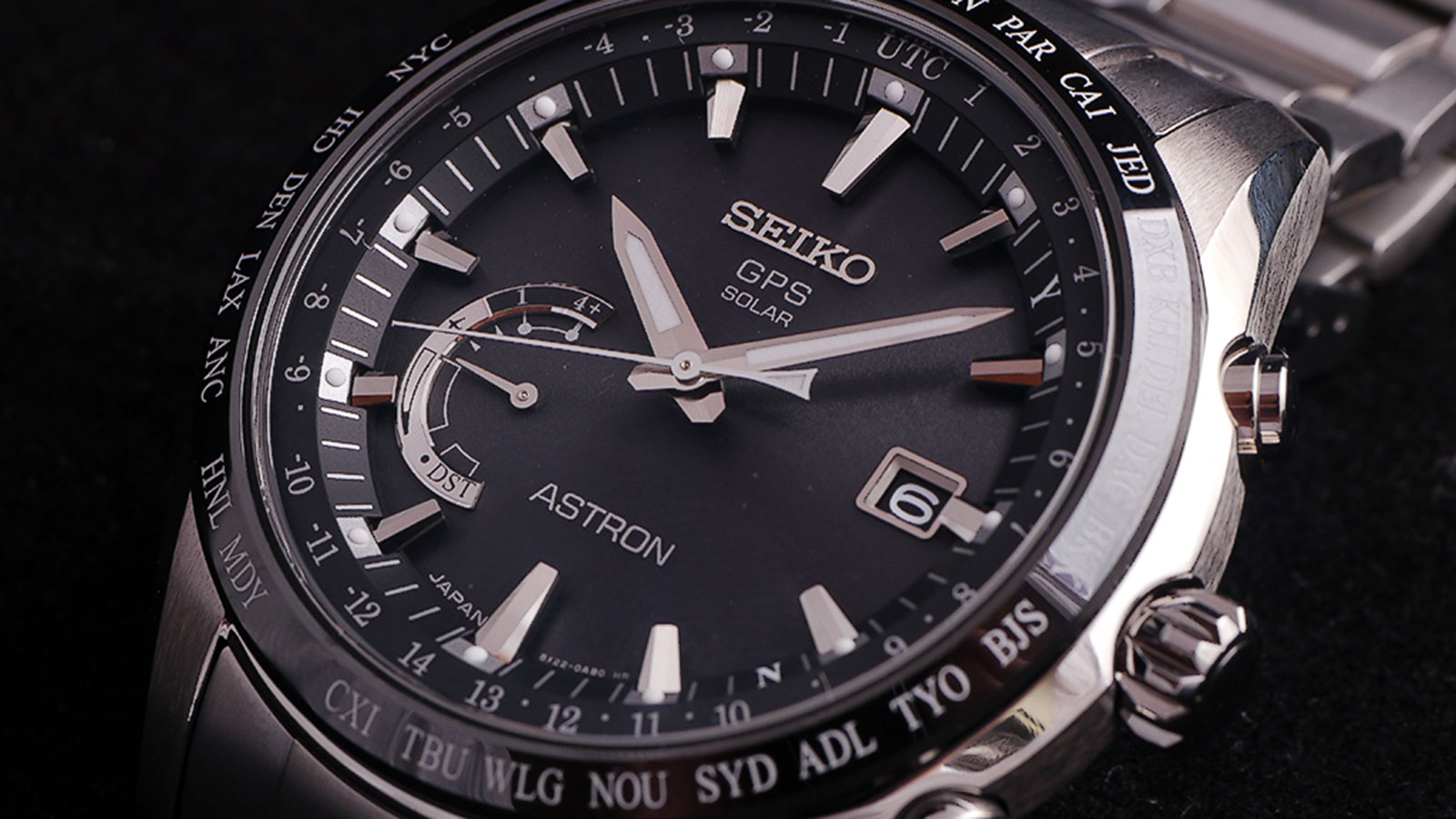 SEIKO CALIBER 8X22 MEN'S WATCH