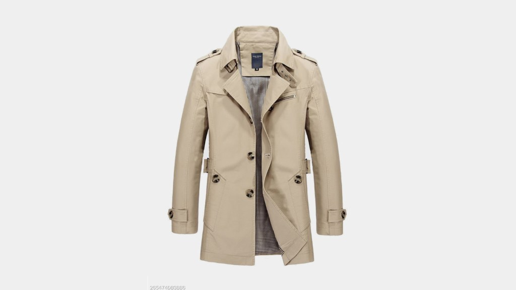 Berrylook Best Mens Trench Coat