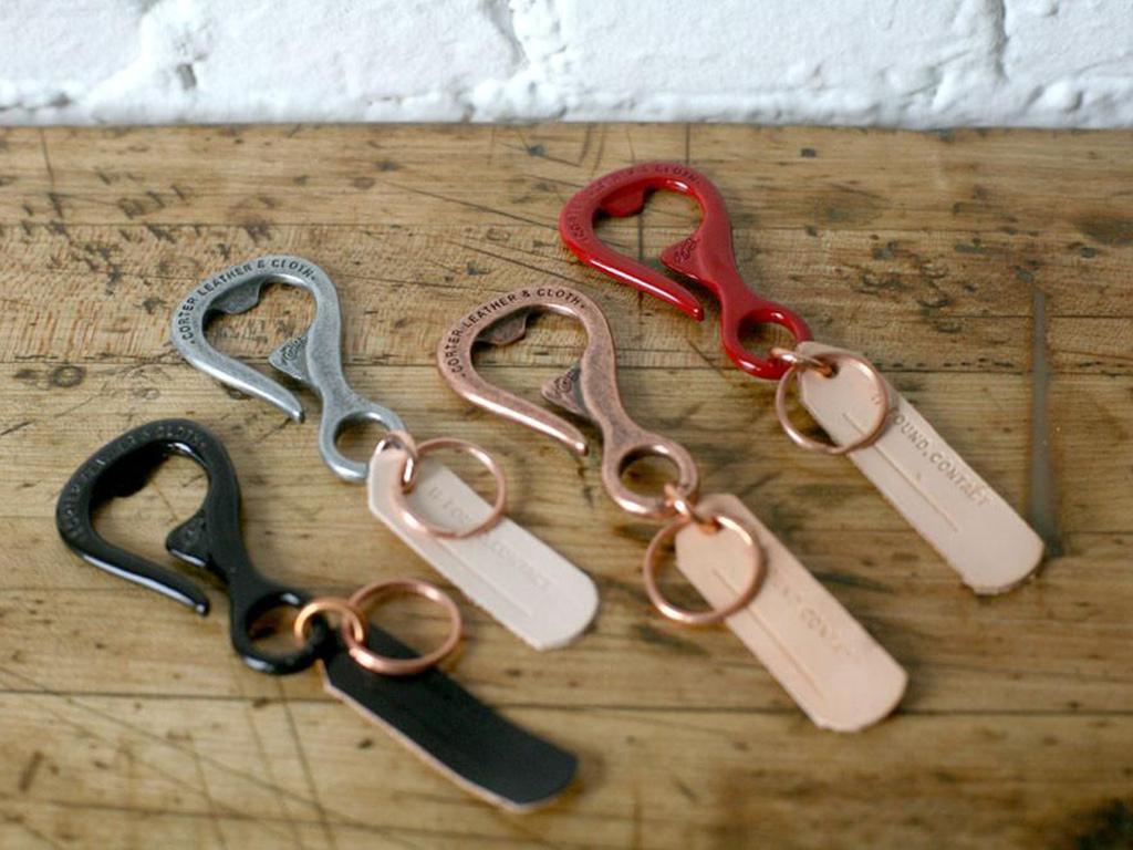 Corter Leather Bottlehook | best edc keychains | best edc keychains