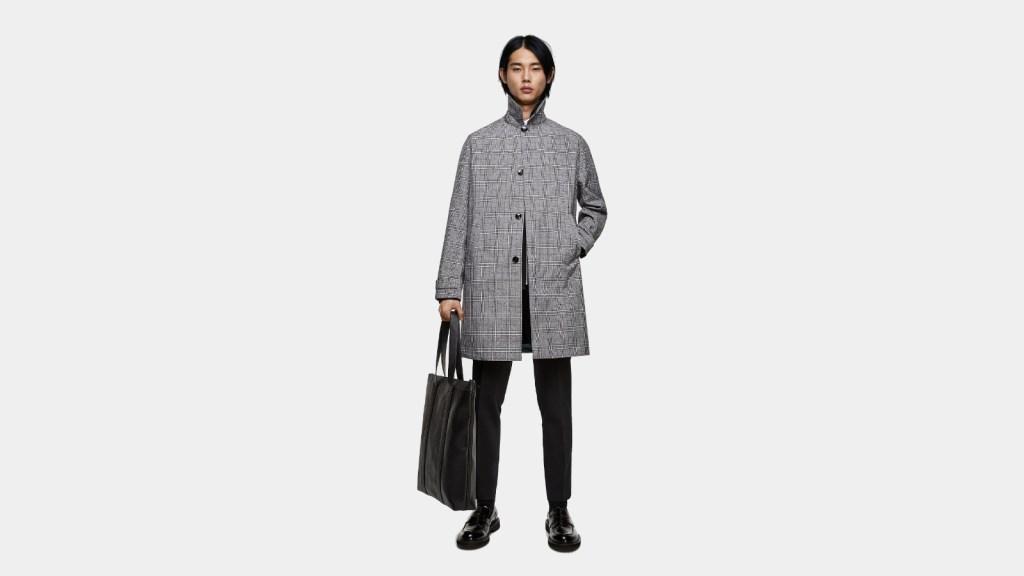 Zara Best Mens Trench Coat