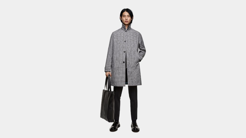 Zara Best Mens Trench Coat