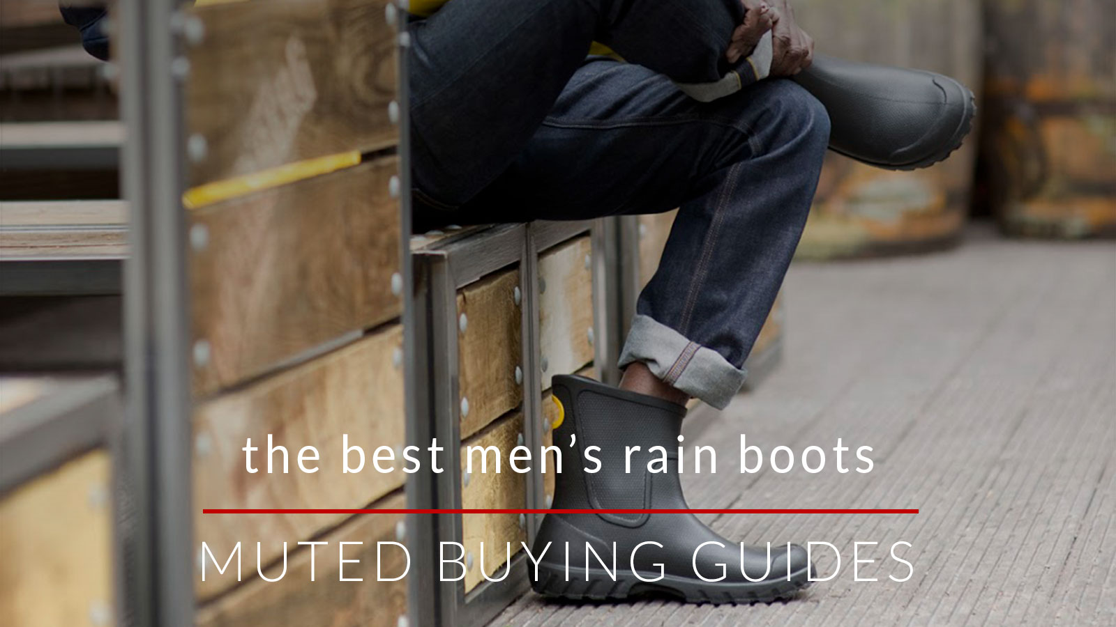 the best men's rain boots