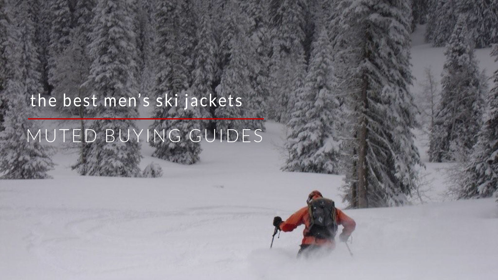 best men's ski jackets
