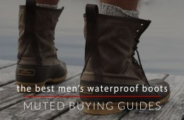 The Best Men's Waterproof Boots