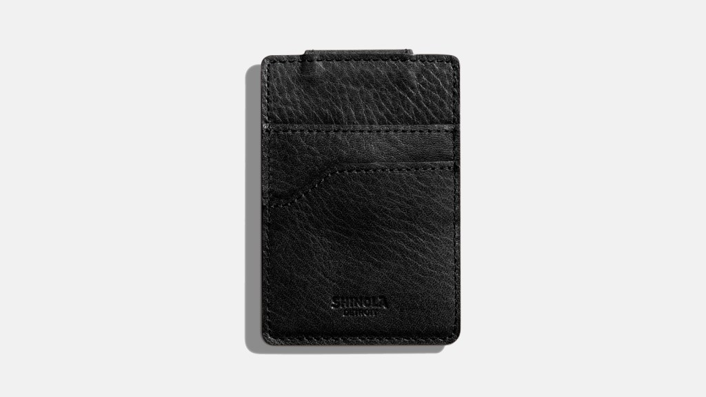 Shinola Best Men's Money Clip