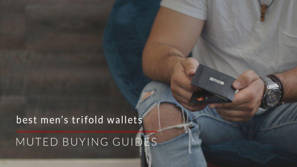 best mens trifold wallets