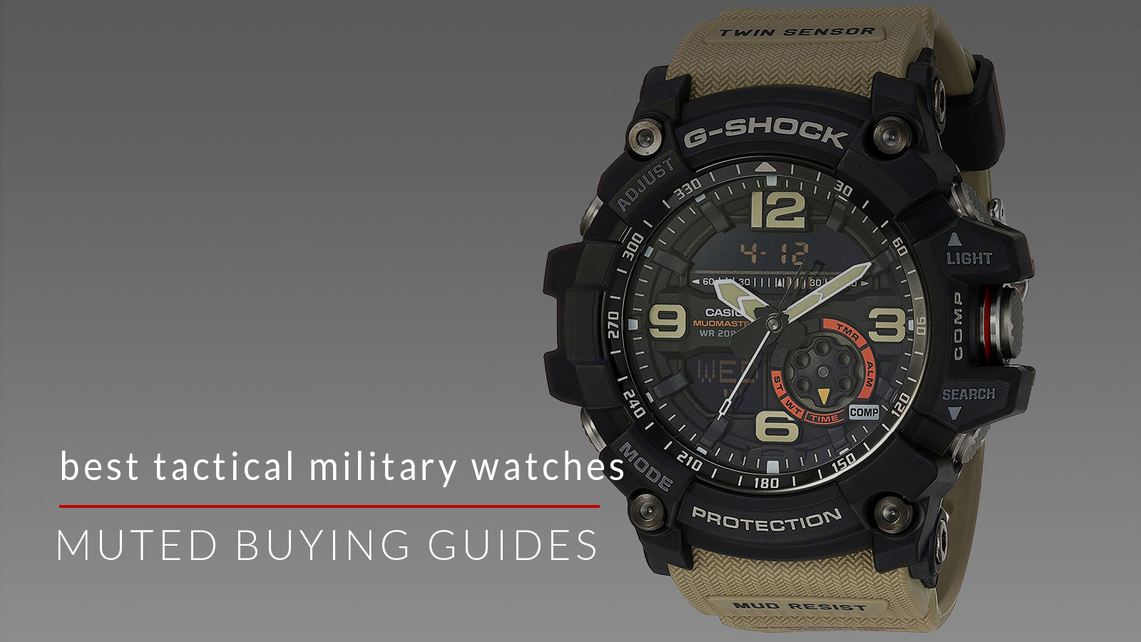 best tactical military watches for men