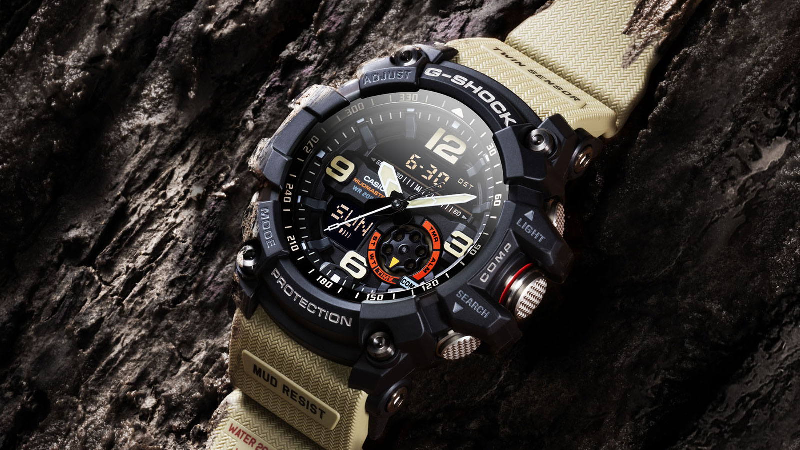 G-SHOCK MUDMASTER GG1000 WATCH