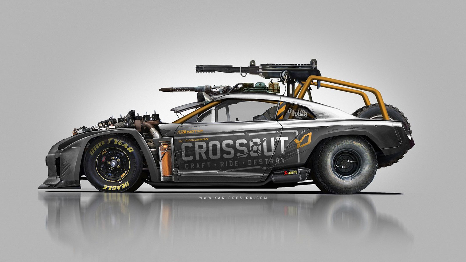 crossout nissan gtr