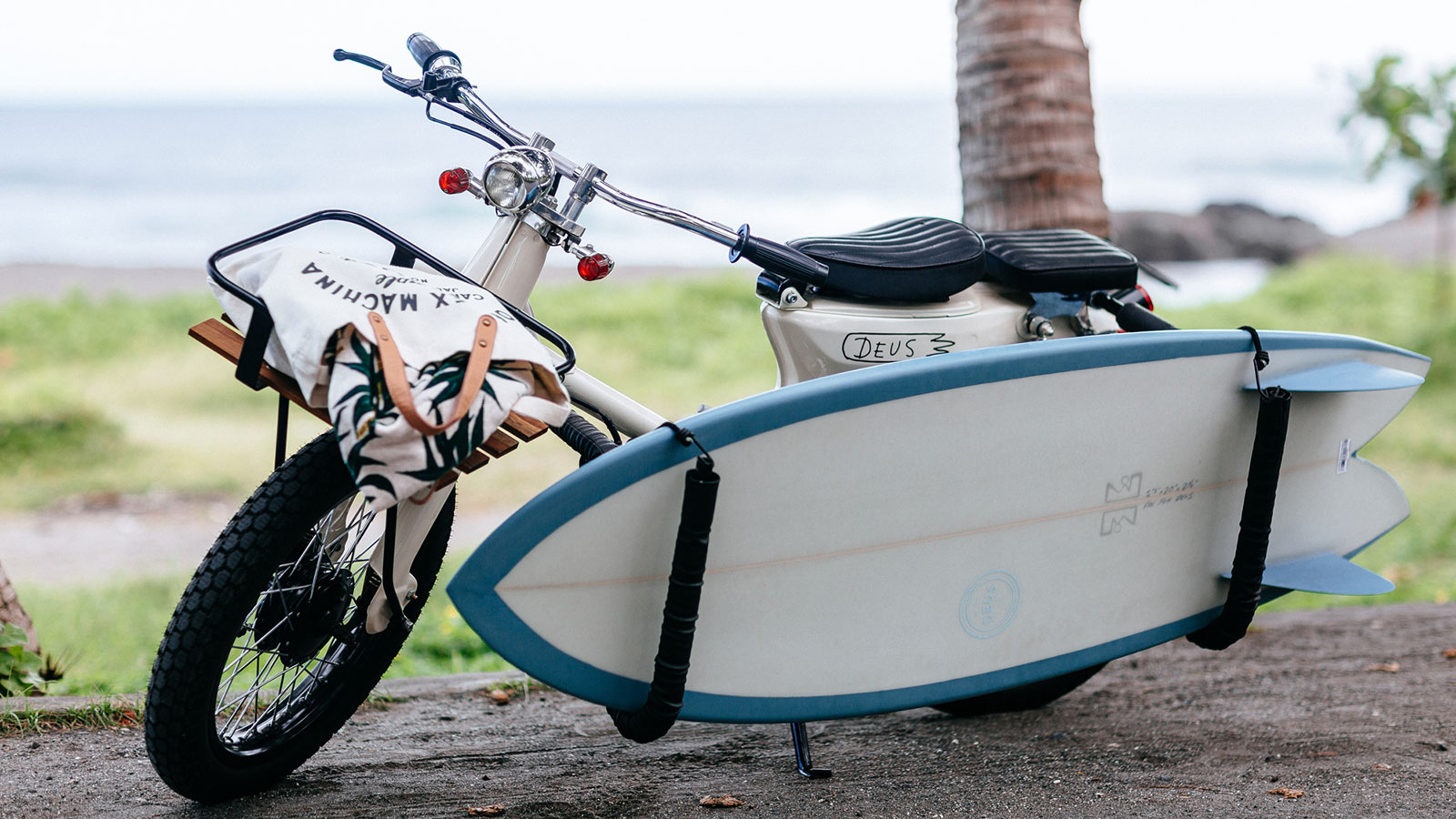 DEUS EX MACHINA SEA SIDER MOTORCYCLE