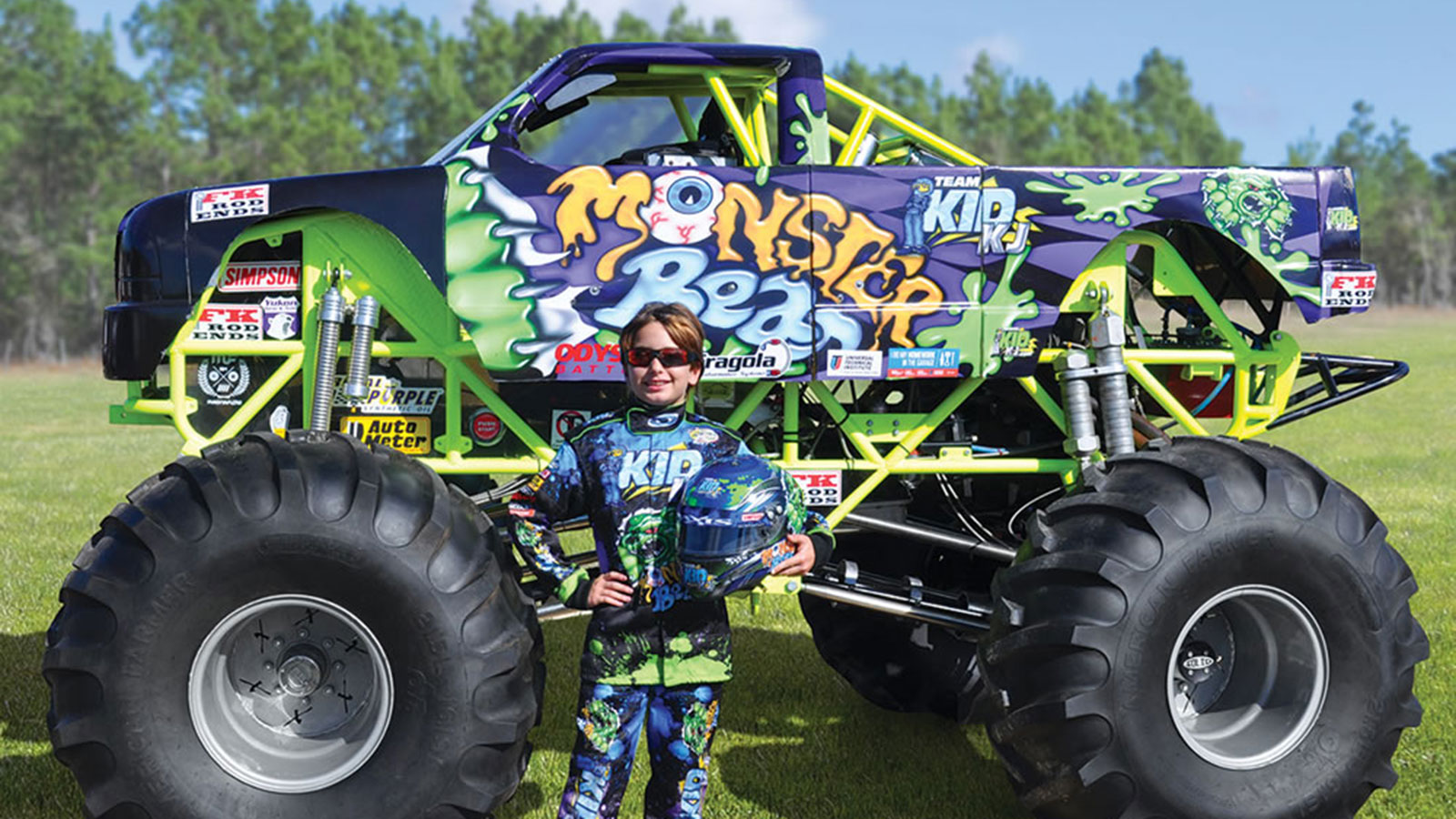 Mini Monster Truck