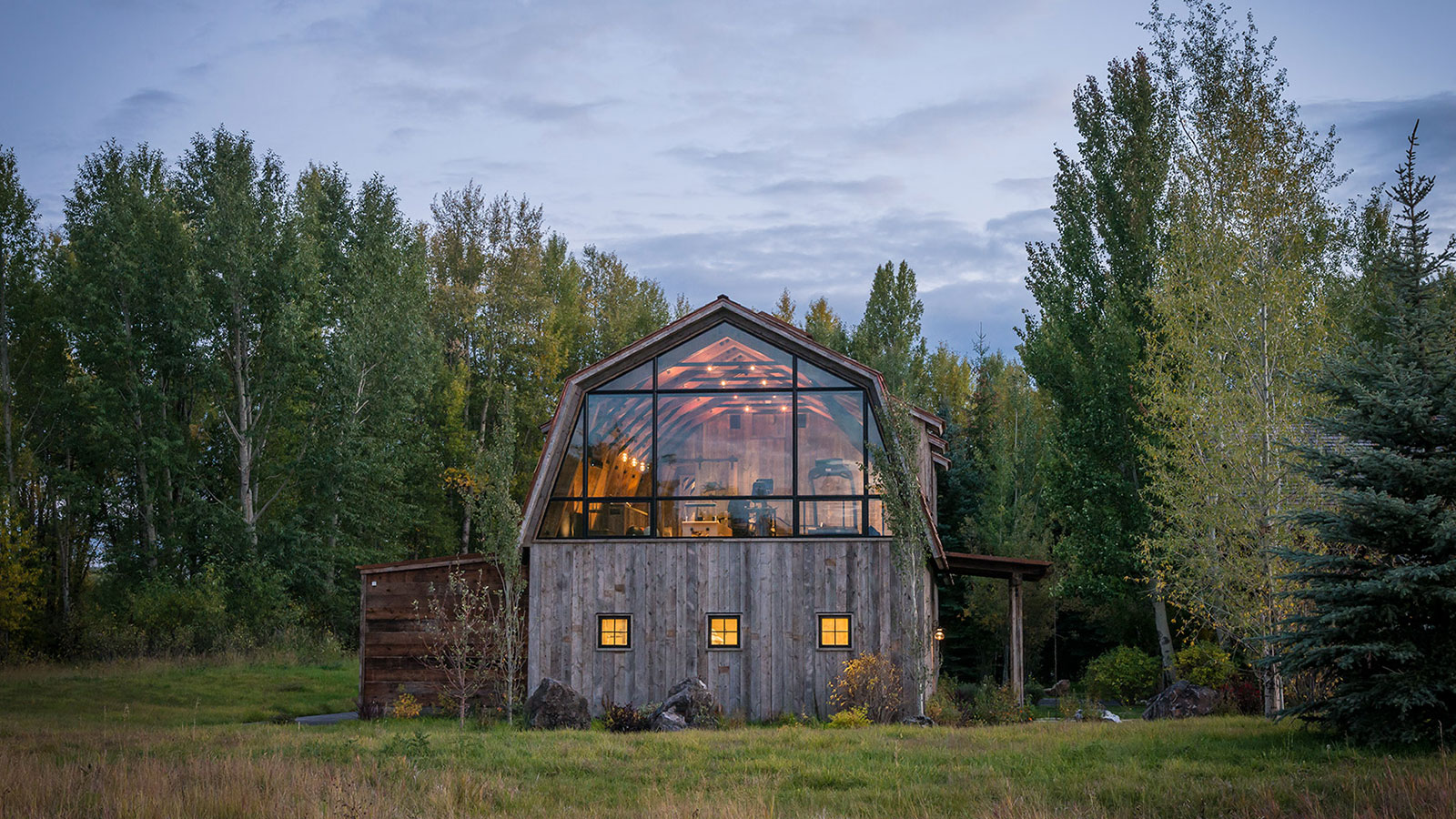 The Barn by Carney Logan Burke Architects