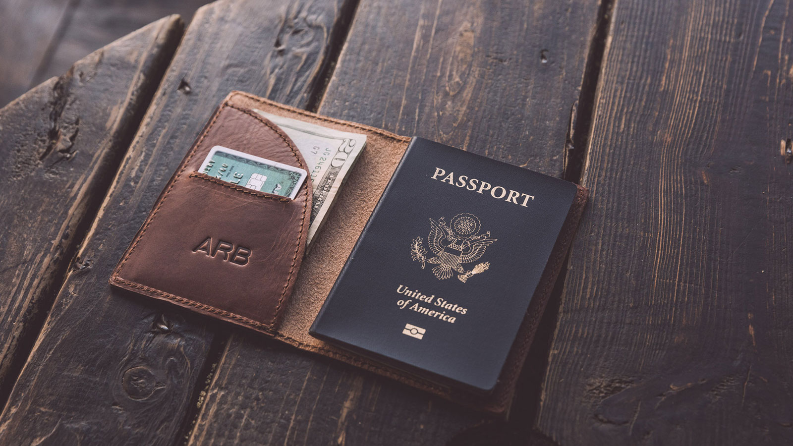 WHIPPING POST PASSPORT WALLET