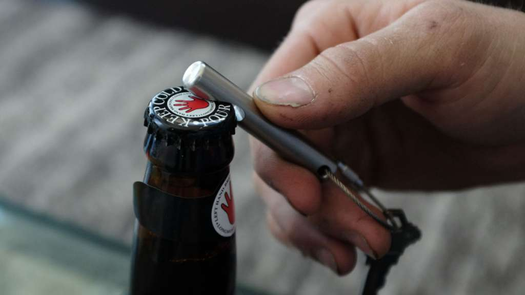 Ballard Keychain Bottle Opener