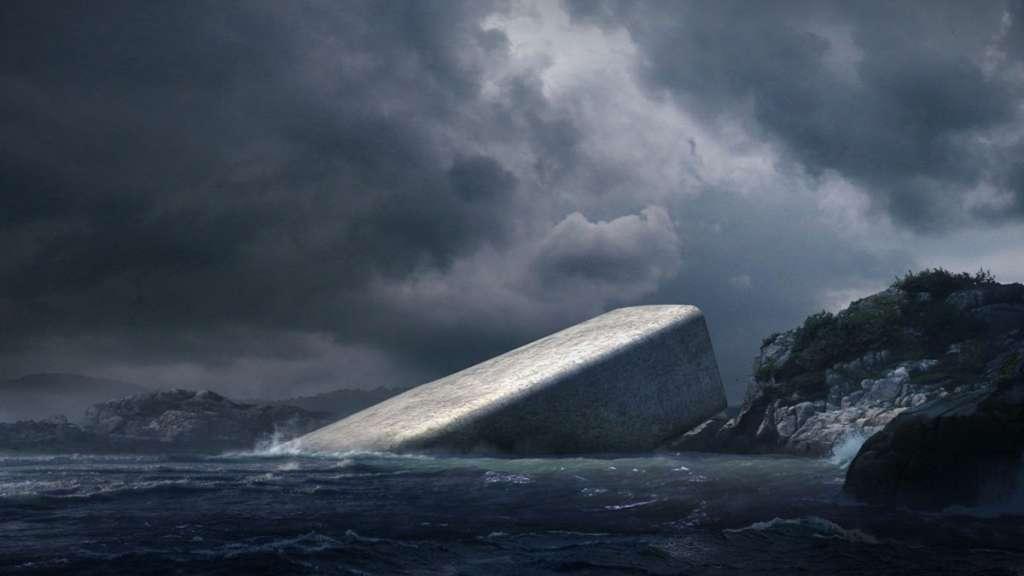 under - the first underwater restaurant in europe