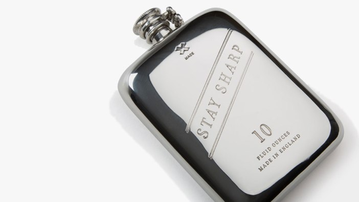 Best Made Co. 10oz Whiskey Flask