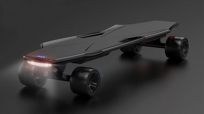 StarkBoard Electric Skateboard: No Remote Needed