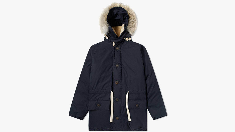 best mens winter parka by nigel cabourn