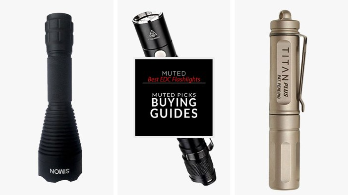 5 OF THE BEST EDC FLASHLIGHTS